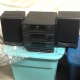 REDUCED!,  Panasonic 35-inch TV and RCA Bookshelf Stereo System in Elizabethtown, Kentucky