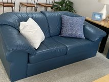 Leather couch and loveseat! in Naperville, Illinois