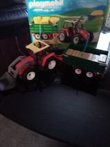 Playmobil 4496 tractor with trailer in Ramstein, Germany