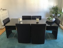 Dining table set in Ramstein, Germany