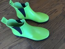 Polo Sport Lime Green Rain Boots - size 6 Women's in Beaufort, South Carolina
