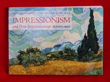 NYC's MET booklet with 30 Impressionism postcards in Okinawa, Japan