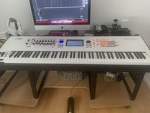 Yamaha Montage 8 88-Key Flagship Synthesizer White. 110 Volt (27 watts) 100 W Transformer Included in Wiesbaden, GE