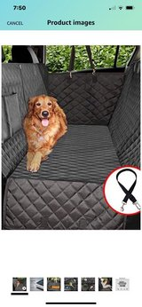 Quilted Car Seat Protector For Pets in Kingwood, Texas
