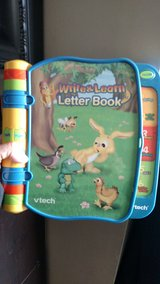 Vtech Write and learn letter book in Schaumburg, Illinois