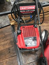 Craftsman 1800psi power washer in Beaufort, South Carolina
