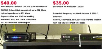 Cable Modem & Wi-Fi Router in Mobile, Alabama