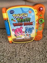 Vtech Touch and Teach Word Book in Chicago, Illinois