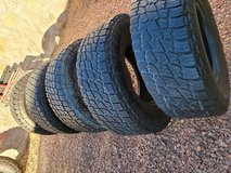 $370 Goodyear Wranglers 31x10.5x17 (245×75×17) in Fort Bliss, Texas