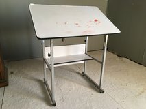 Adjustable Drawing/Art table (has some paint on it) in Alamogordo, New Mexico