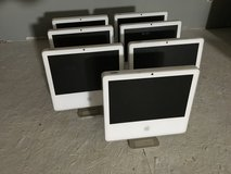 Lot of 7 working/retired iMac computers, no hard drives in Alamogordo, New Mexico
