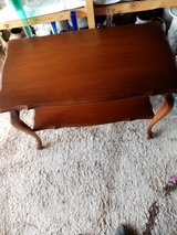 Small table made of wood in Baumholder, GE