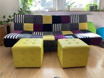 Couch/Sofa - Folding Couch Sofa - Schlafsofa in Ramstein, Germany