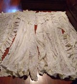 Lace curtain set in Kingwood, Texas