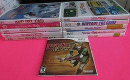 Wii Games  You Choose Mario  Donkey Kong Just Dance Star Wars Happy Feet in Fort Campbell, Kentucky