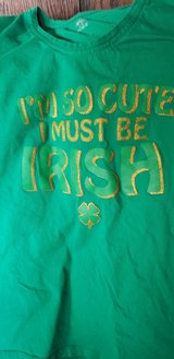 St. Patrick's Day T-shirt Junior Medium Excellent Condition in Glendale Heights, Illinois