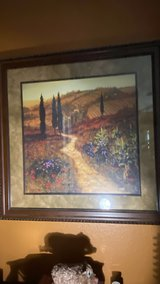 Beautiful Well Made Framed Tuscany Artwork in Vacaville, California