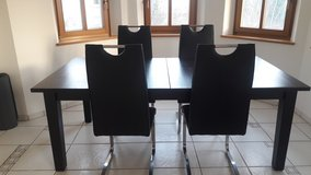 Ikea Dining Room Set with 4 Chairs in Hohenfels, Germany