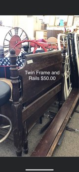 Twin Frame and Rails in Fort Leonard Wood, Missouri