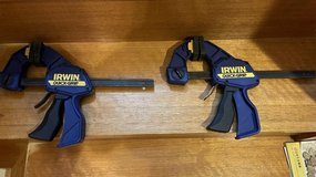 """Irwin 12"""" Wood Clamps (Set of 2 clamps) in Okinawa, Japan"""