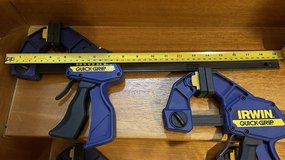 """Irwin 18"""" Wood Clamps (Set of 2 clamps) in Okinawa, Japan"""