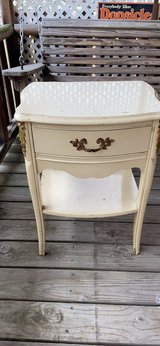 Antique French provincial night stand in Baytown, Texas