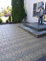 Landscape work, deck and fence repair in Naperville, Illinois