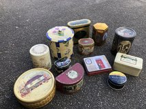 Collection of 12 Biscuit Tins in Lakenheath, UK