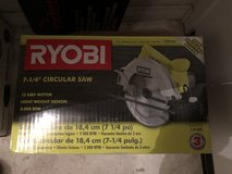 RYOBI CIRCULAR SAW in Miramar, California