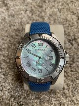 Invicta dive watch with mother of pearl dial in Naperville, Illinois