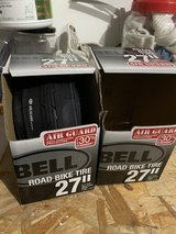 Bell Bike Road Tire 27 x 1 1/8/1 1/4 Anti-Puncture Lot of 2 NEW in Naperville, Illinois