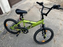 Boys bike in Lackland AFB, Texas