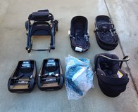 Maxi Cosi stroller, car seat, bassinet combo in Camp Pendleton, California