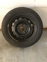 Snow Tires and Steel Wheels (set of 4) in Naperville, Illinois