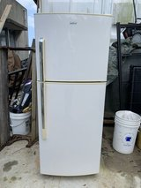 haier refrigerator, 65l freezer and 167l for the fridge in Okinawa, Japan