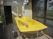 10 ft. boat & trailer with 3.5 motor and oars in Okinawa, Japan