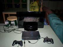 playstation 2 and two controllers & all hookups & 5 games in Elizabethtown, Kentucky