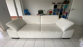 White Couch in Baumholder, GE