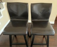NOAH CHOCOLATE SWIVEL LEATHER BARSTOOLS in Bellaire, Texas