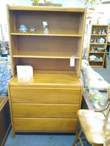 Vintage 3 Drawer Cabinet with Shelves in Quad Cities, Iowa