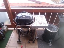Weber Performer GBS charcoal grill with cover and extras in Ramstein, Germany