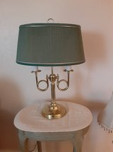 lamp with green shade in Alamogordo, New Mexico
