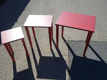 3 stacking tables in Yorkville, Illinois
