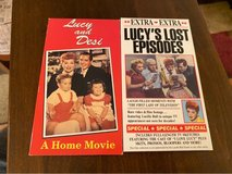 Lucy VHS Tapes in St. Charles, Illinois