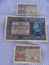 1917 Currency Polish/ Russian in Alamogordo, New Mexico