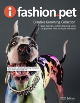 iFashionPet Professional Groomers Creative Collection 300+ page book.  Fabulous Imagery and Ideas in Okinawa, Japan