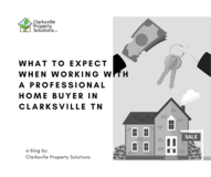 What To Expect When Working With A Professional Home Buyer In Clarksville TN in Fort Campbell, Kentucky