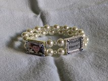 Silver Plated 2 Instant Photo Picture Bracelet #1 in St. Louis, Missouri