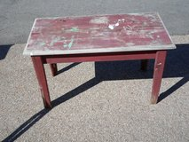 Wooden Country Coffee Table in Yorkville, Illinois