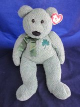 Ty Beanie Buddies Shamrock LARGE & EXTRA LARGE NEW TAGS in Glendale Heights, Illinois